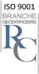 Praktijk Reijshoeve werkt uitsluitend met RC gecertificeerd materiaal